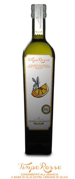 Orange infused olive oil
